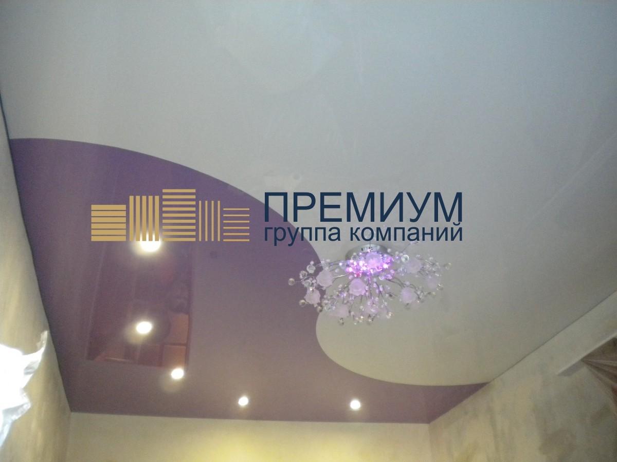 Шовный натяжной потолок S= 16м2