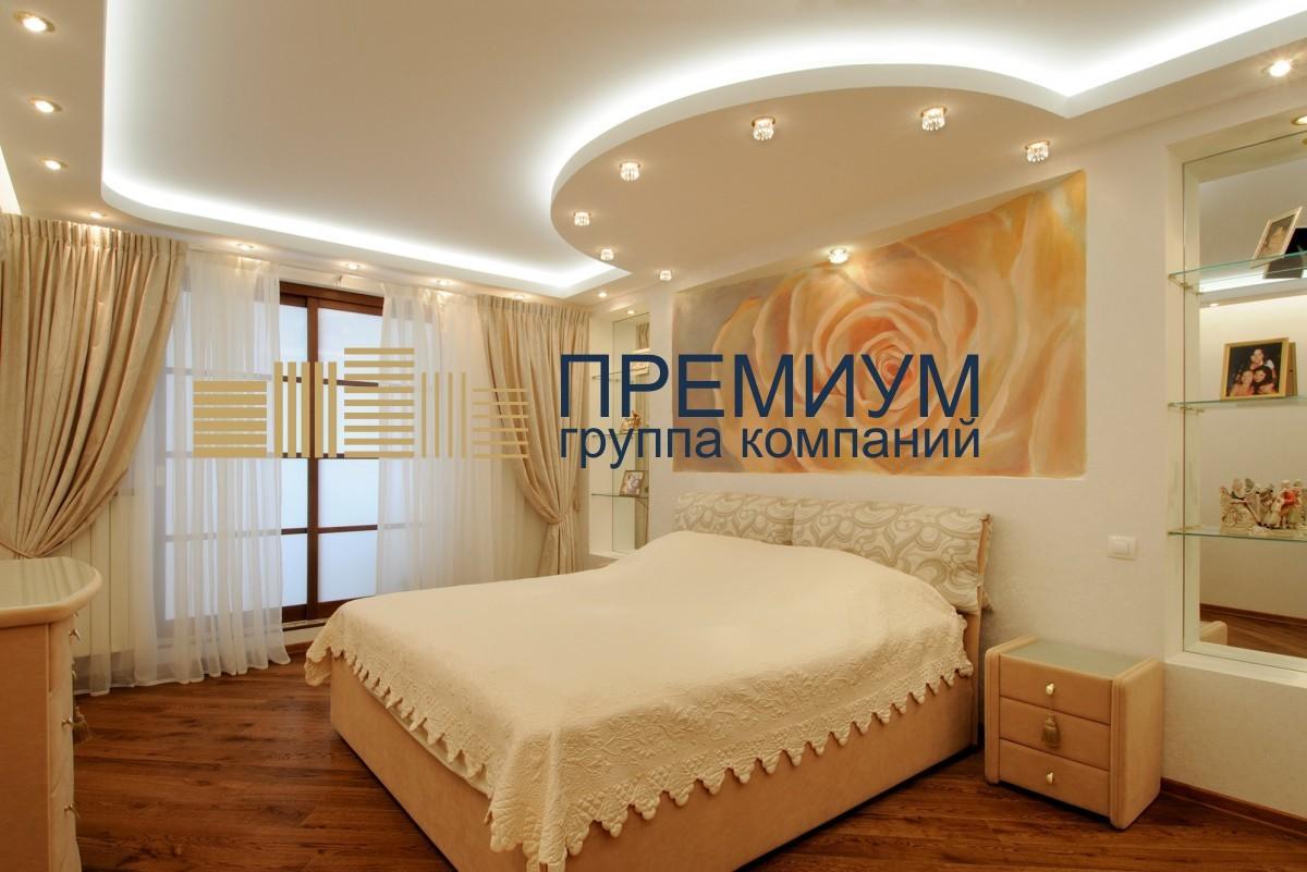 Натяжной потолок со скрытой нишей S= 15м2