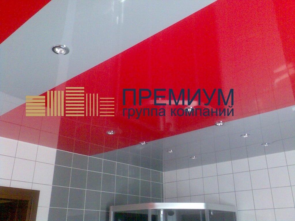 Натяжной потолок со спайкой S= 8м2