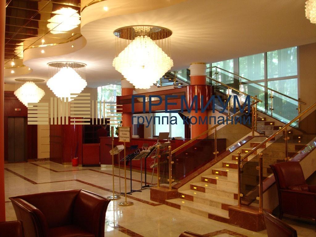 Натяжной потолок в отель S= 35м2