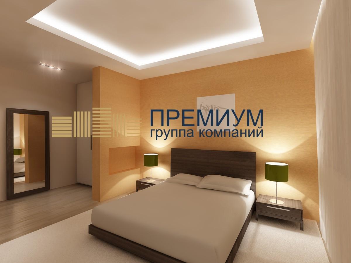 Натяжной потолок в гостинице S= 15м2
