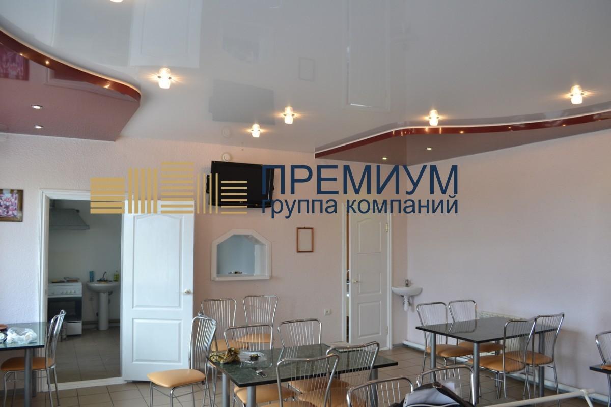 Натяжной потолок в столовую S= 18м2