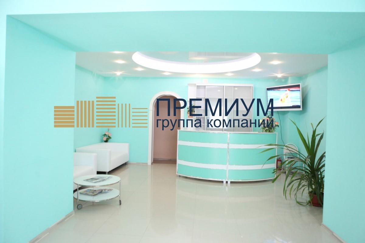 Натяжной потолок в стоматологию S= 14м2