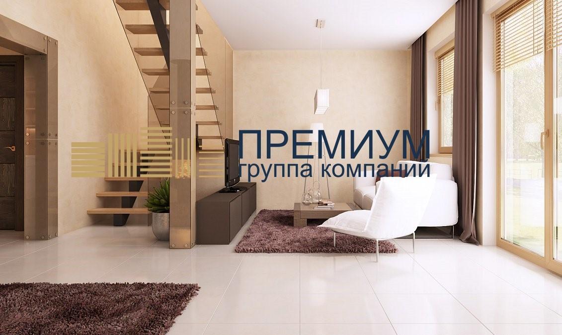 Натяжной потолок в каркасном доме S= 28м2